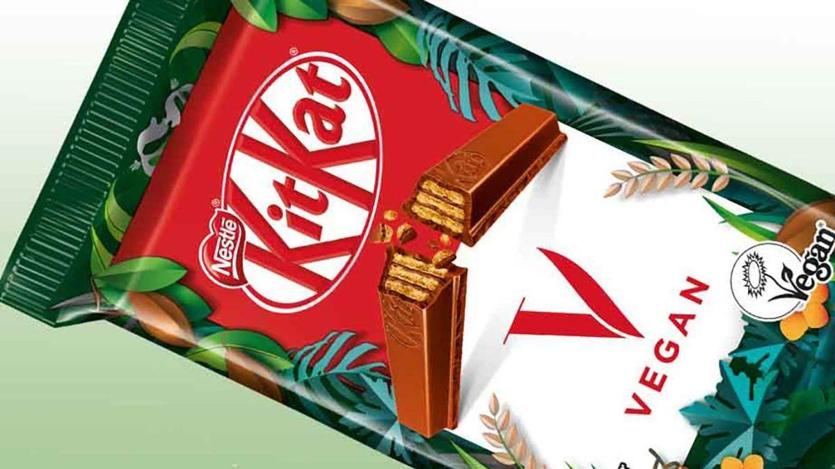 Веганський шоколад KitKat від Nestle