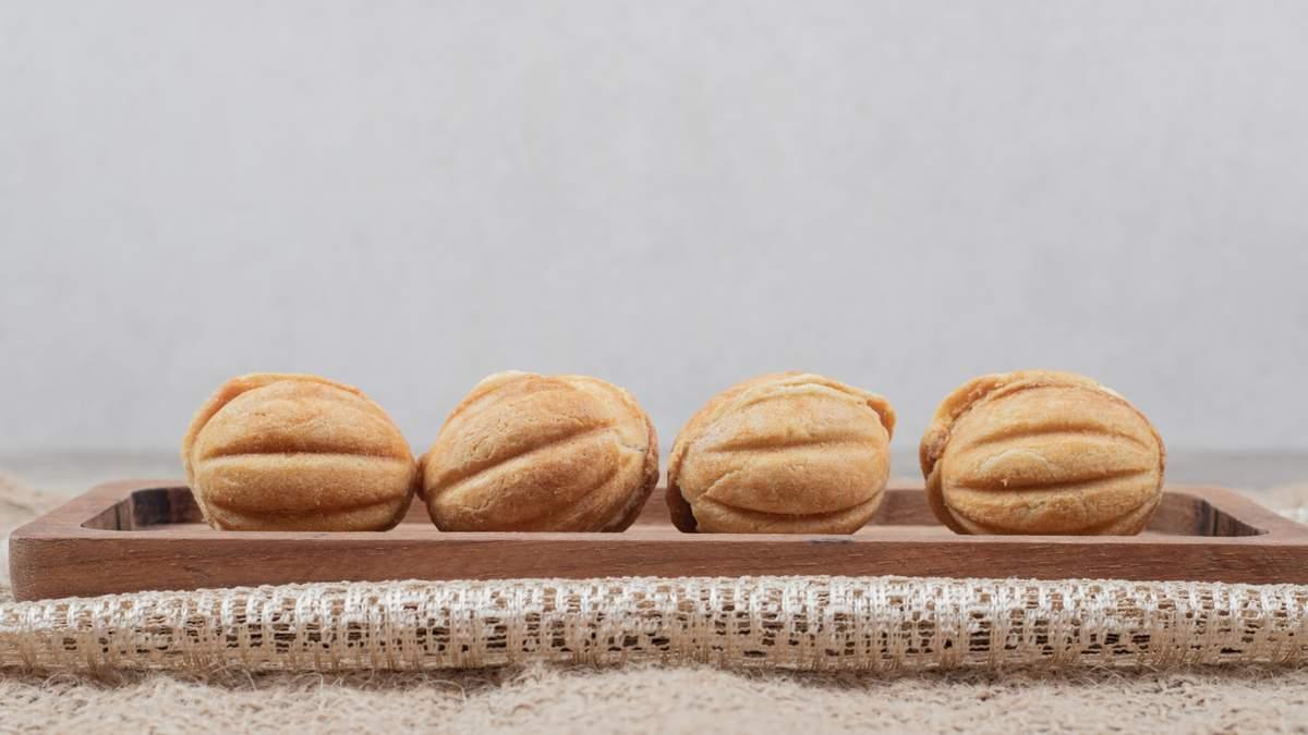 Як приготувати печиво Горішки: простий рецепт