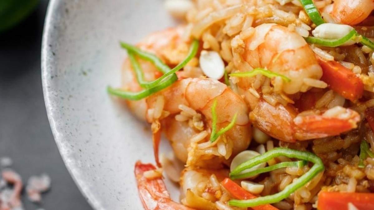 Рецепт тайського рису від Євгена Клопотенка