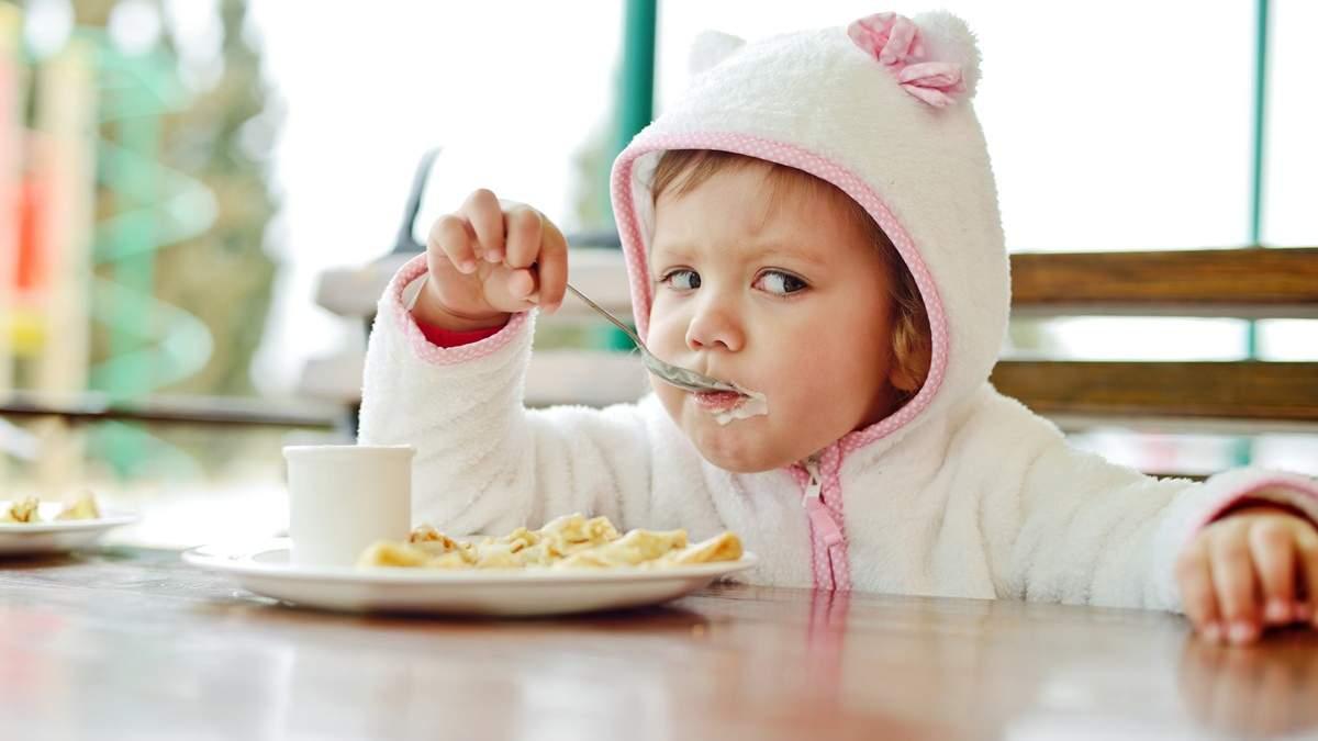 Кількість і варіанти перекусів для дітей