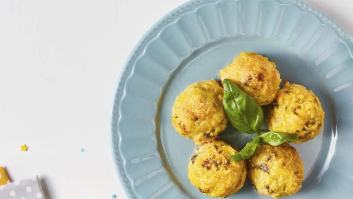 Аранчини с печенью и базиликом: рецепт
