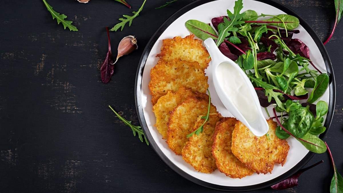 Рецепт картофельных блинов – два варианта: на молоке и кефире