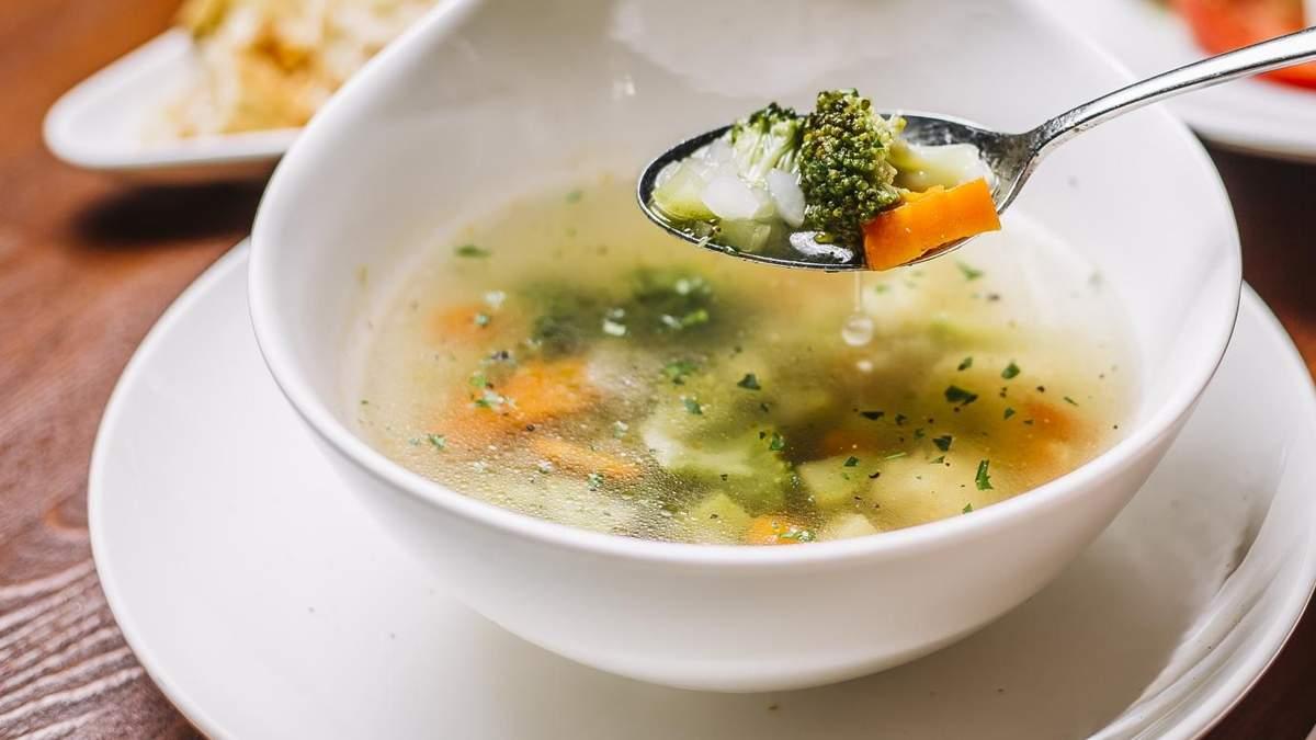 Пісний суп з броколі: рецепт