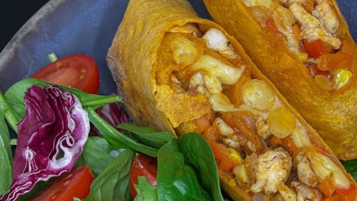 Как приготовить буррито с курицей: рецепт от Яны Балог