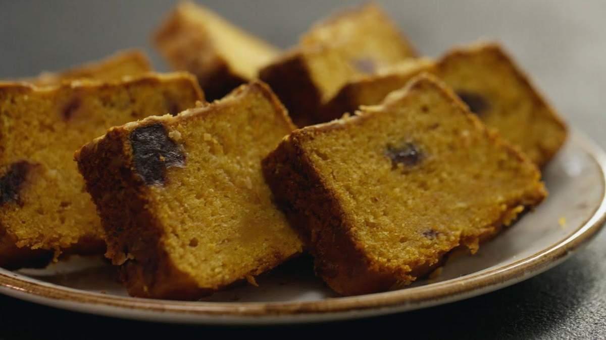Рецепт постного тыквенного кекса с финиками от кондитера Лизы Глинской