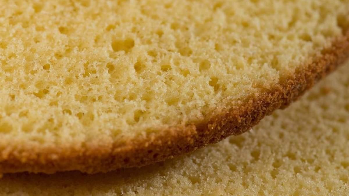 Правила выпекания бисквита: ценные советы кондитера