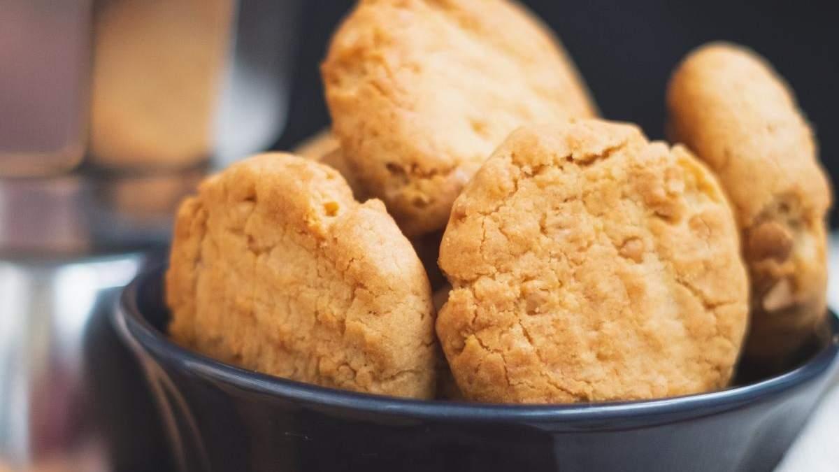 Рецепт кукурудзяного печива