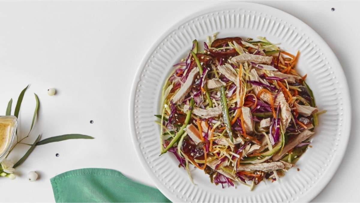 Китайский салат с куриным филе: домашний рецепт