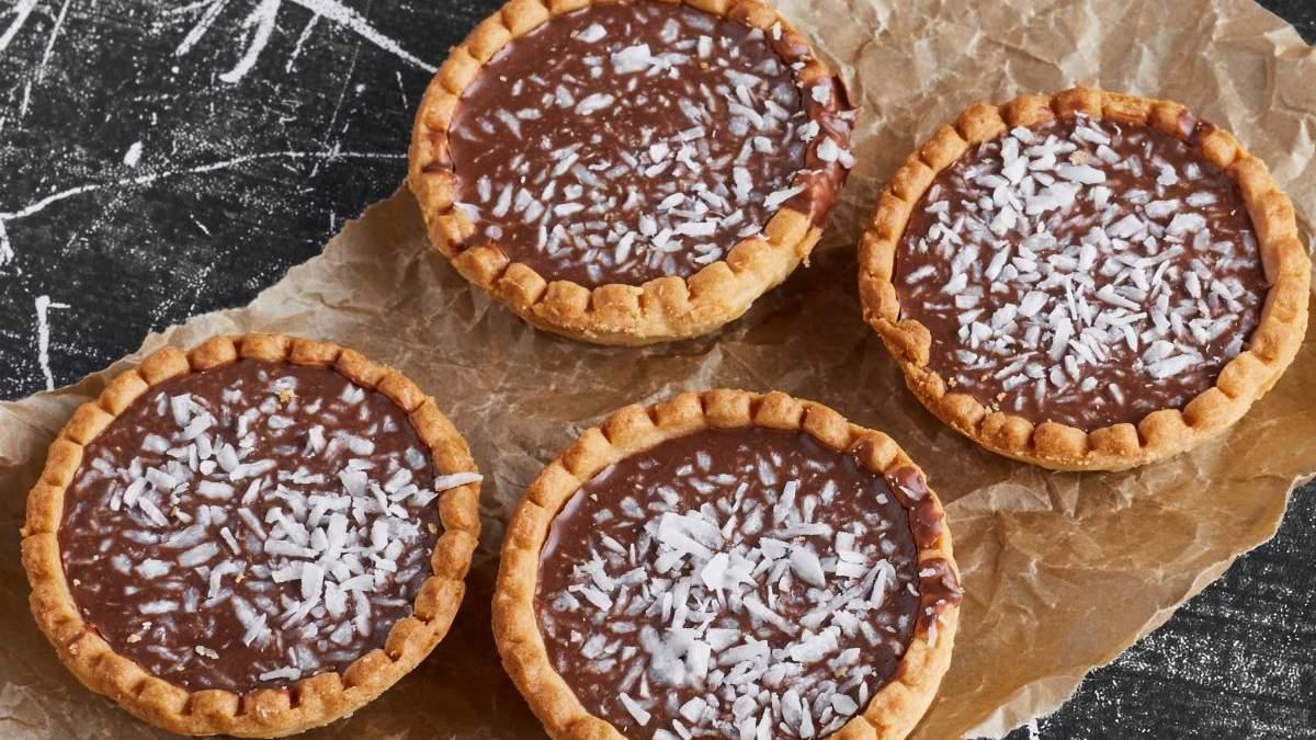 Тарталетки з шоколадним кремом: домашній рецепт