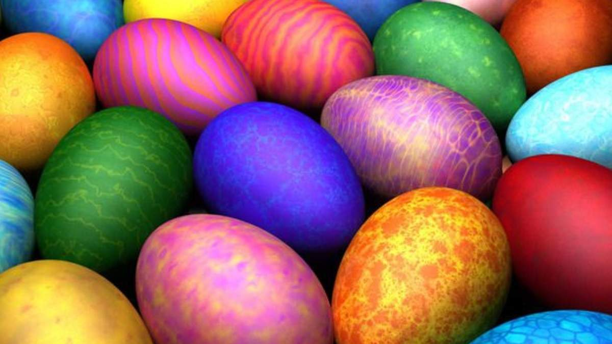 Красим яйца пищевыми красителями на Пасху 2021