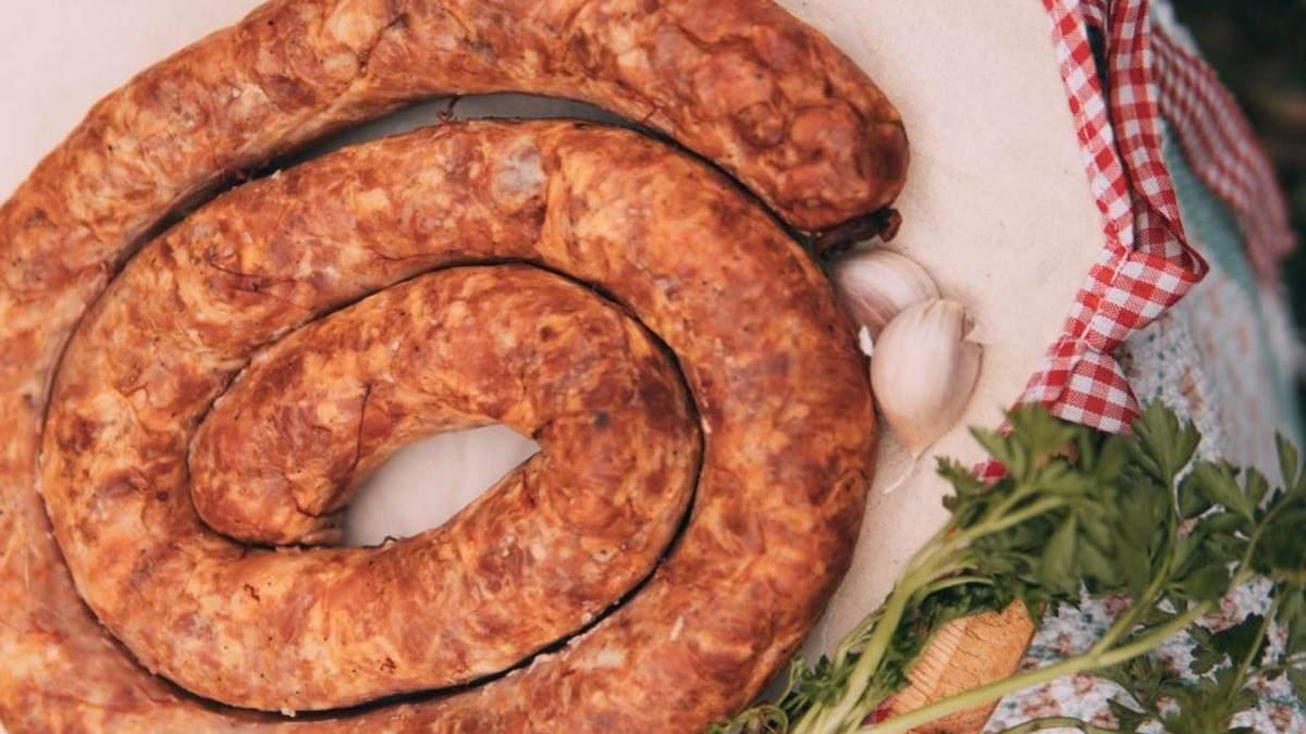 Рецепт домашньої ковбаси від Ольги Мартиновської