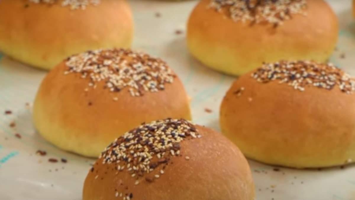 Как приготовить булочки для бургеров: рецепт
