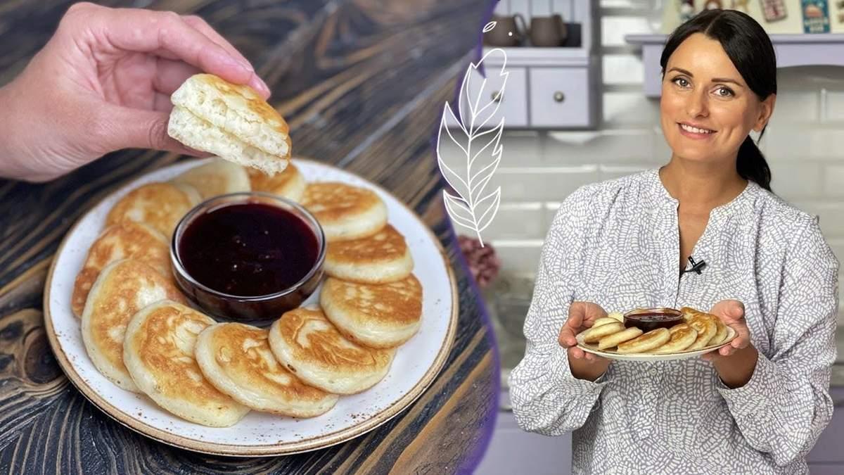 Ліза Глінська готує дріжджові оладки: відео