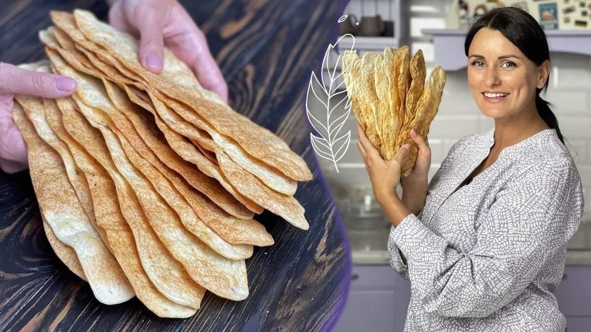 Ліза Глінська готує хлібці: відеоурок