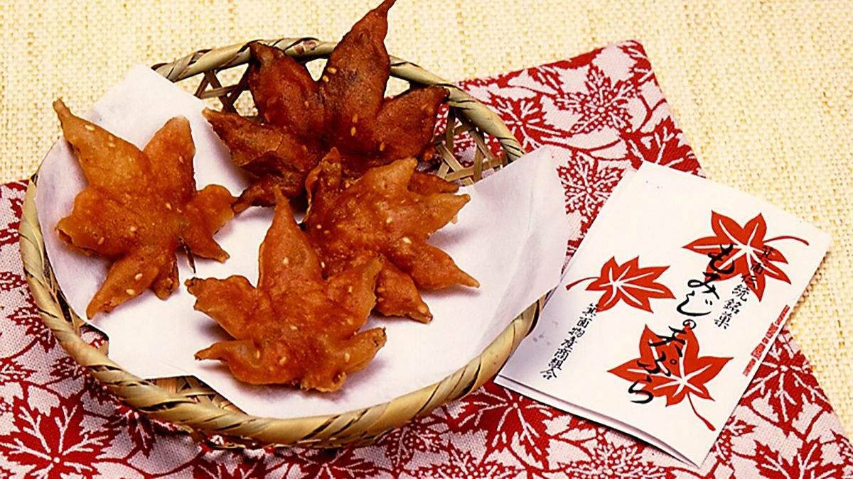 Смажене кленове листя – старовинна страва Японії