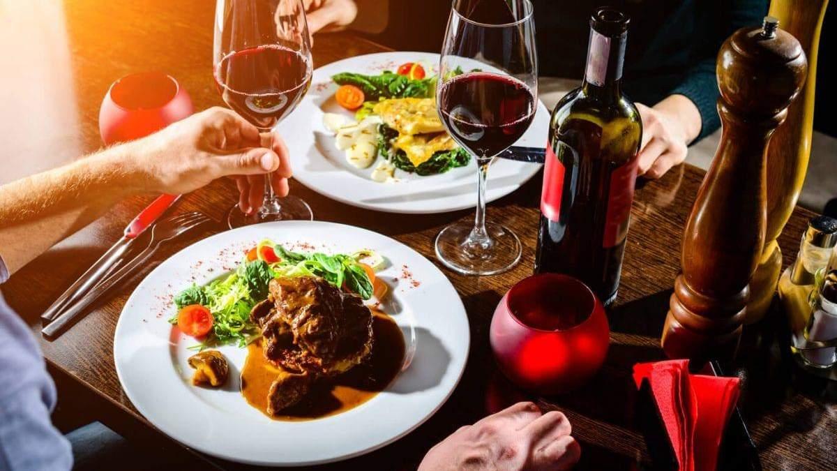 Романтична вечеря за 30 хвилин: рецепти