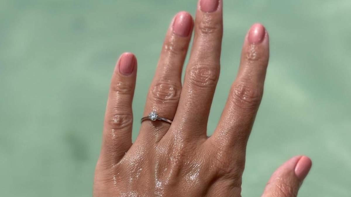 Ліза Глінська заручилася в Домінікані