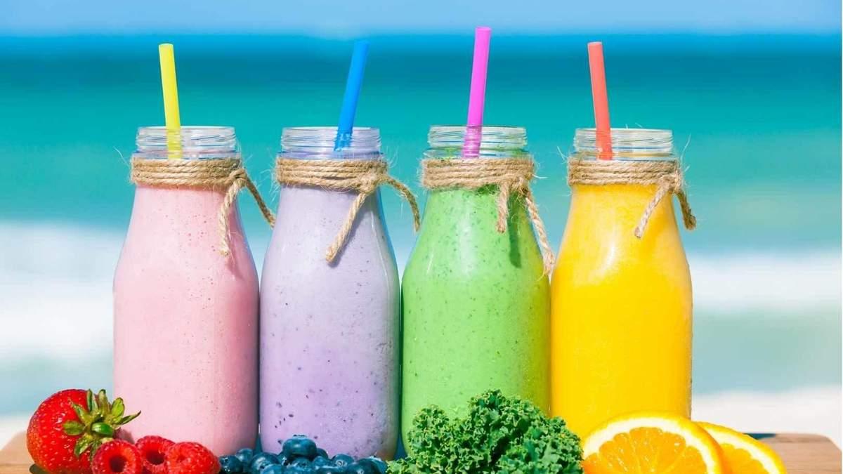 Шесть рецептов летних смузи