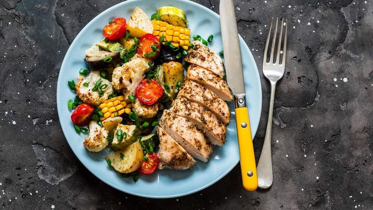 Сезонні овочі з курятиною: рецепти