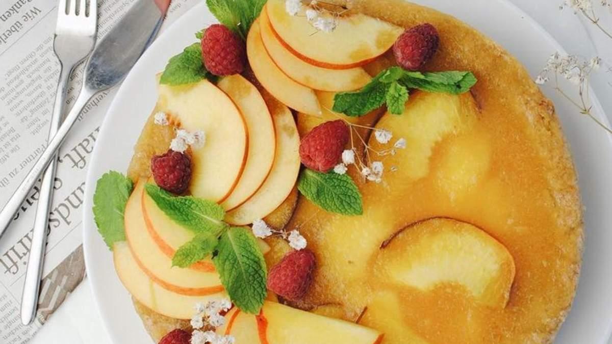 Персиковий тарт: покроковий рецепт