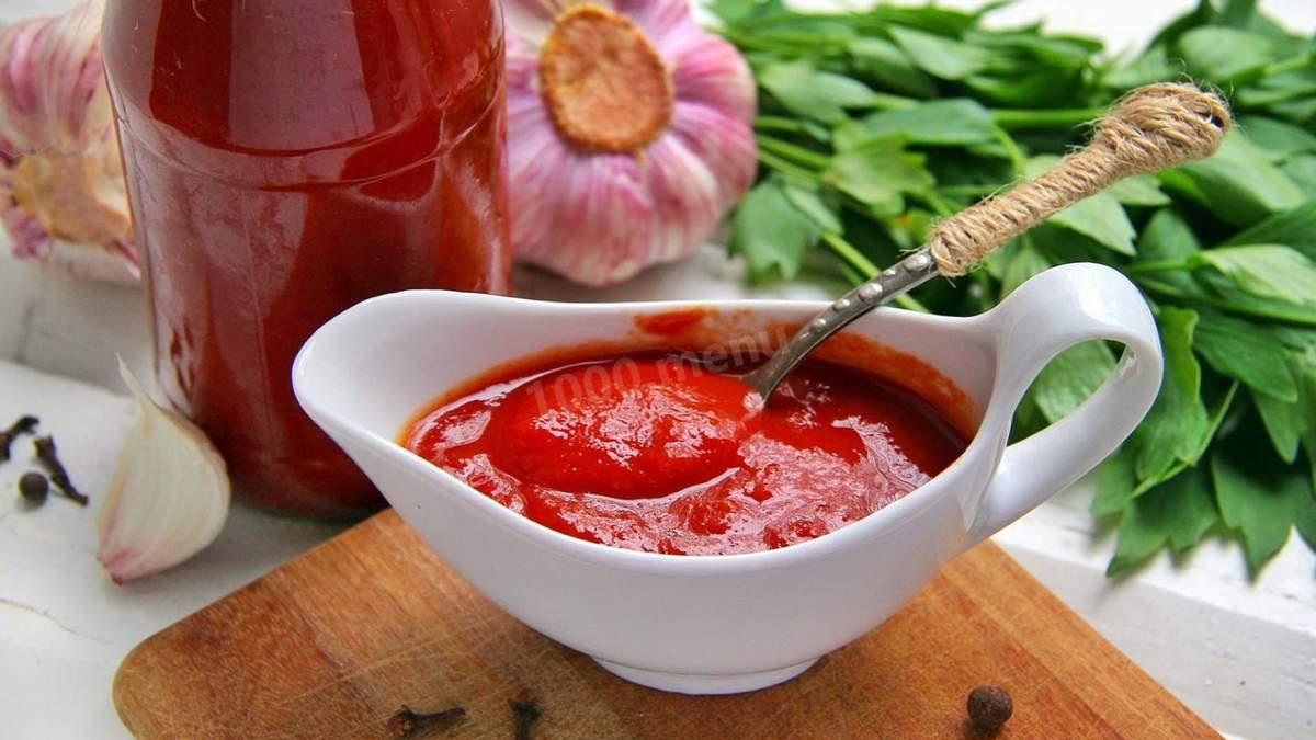 Рецепт кетчупу в домашніх умовах