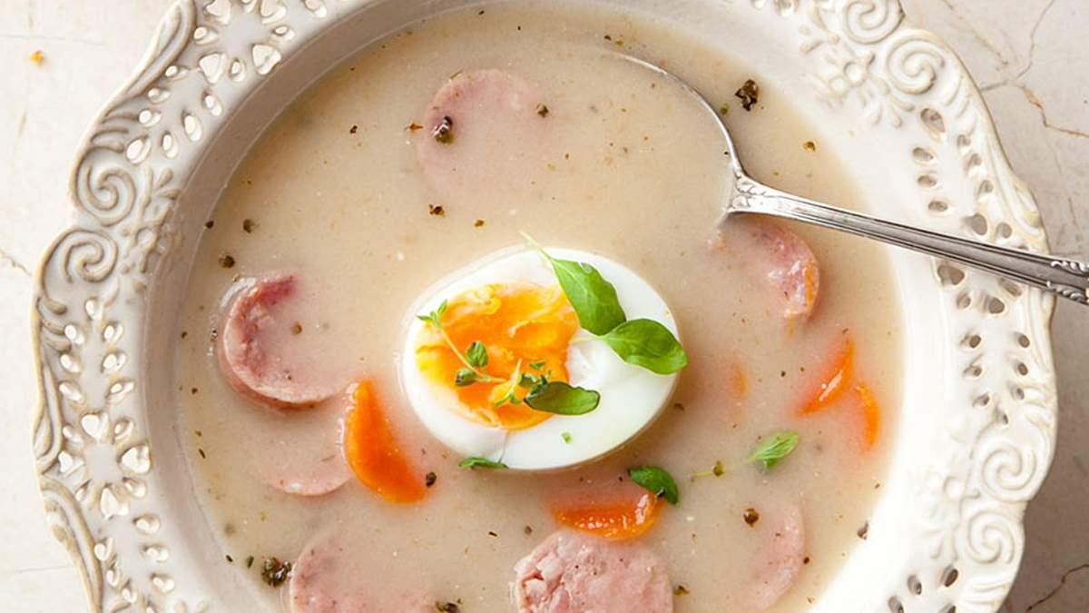 Польський суп журек посів 8-ме місце в престижному рейтингу