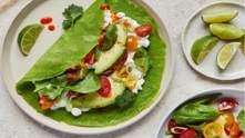 Рецепт блинов со шпинатом и авокадо от Джейми Оливера