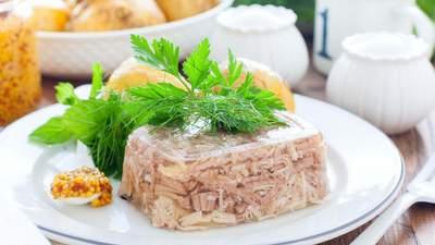 Холодець – як правильно зварити на свята з різних видів м'яса: рецепти
