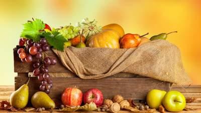 Осіння вітамінізація: які овочі та фрукти мають бути в раціоні щодня