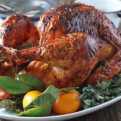 Індичка на День подяки – американський рецепт з апельсинами в духовці