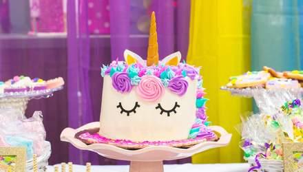 Ідеї для торта на день народження для дітей