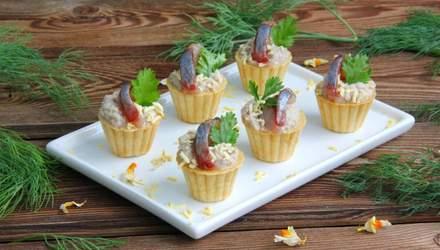 Смачні страви з оселедцем: рецепти святкових закусок