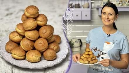 Святковий рецепт ялинки з тістечок шу та мусом оселедця від Лізи Глінської