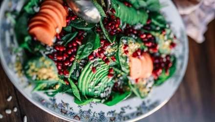 Овочеві дієтичні салати — святкові рецепти
