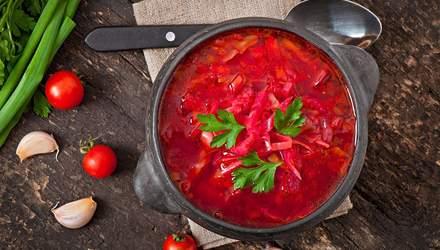 Рецепти пісного борщу: з грибами, квасолею, з вушками
