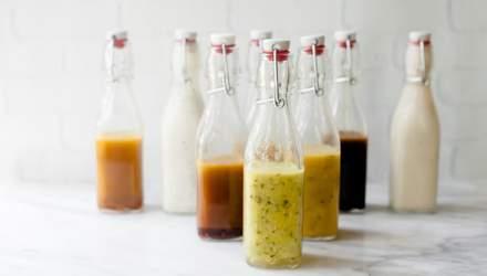Вісім корисних заправок для салатів, які замінять майонез: рецепти на будь-який смак