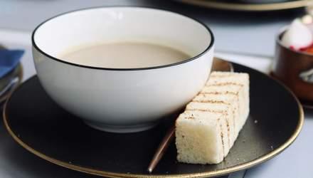 Грибний крем-суп: рецепт від Марко Черветті