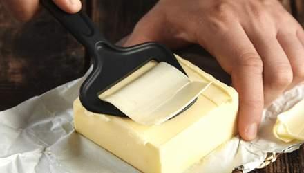 Масло, маргарин і спред: їхня різниця та чи підходять для випічки – розповідає Ліза Глінська