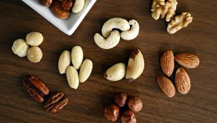 Орехи: польза, вред и калорийность