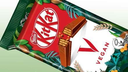 Перший молочний веганський шоколад KitKat: Nestle планує виготовлення батончика на основі рису