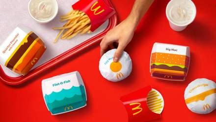 McDonald's вперше за 5 років змінить свій дизайн