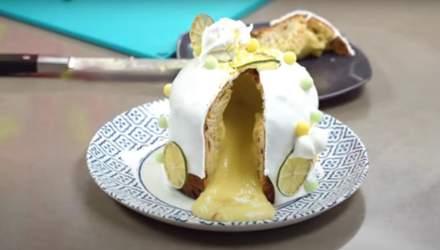 Як приготувати лимонну паску: рецепт від Тані Литвинової