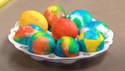 Як оригінально та швидко пофарбувати яйця на Великдень: поради від Тані Литвинової