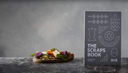 Ikea выпустила кулинарную книгу рецептов из остатков пищи