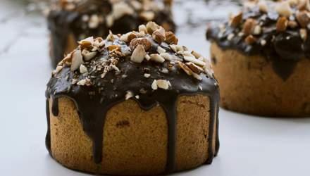 Банановые кексы с шоколадной глазурью: домашний рецепт