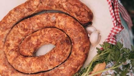 Рецепт домашньої ковбаси на Великдень від Ольги Мартиновської