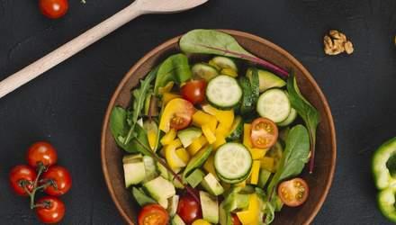 Овощной салат на Пасху: простой рецепт