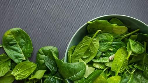 Шпинат: польза, вред и калорийность