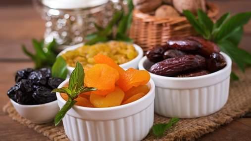 Сухофрукты: калорийность, польза, как правильно выбрать