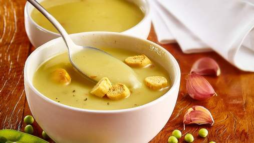Рецепт крем-супу з горошком: пісна страва на кожен день